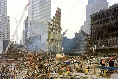 Ground Zero, the aftermath