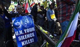 Iranians Mount Monday Anti-Rouhani Rally at UNHQ