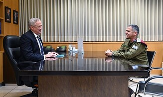 Defense Minister Benny Gantz orders military preparations for sovereignty