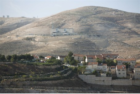 Homes on outskirts of Jerusalem