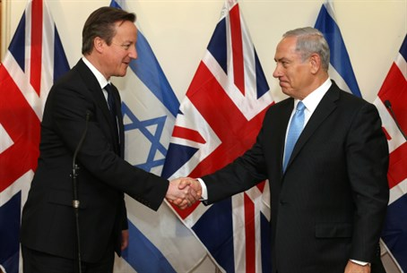 David Cameron is favored by most Jewish voters for his support for Israel